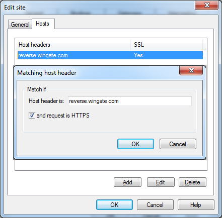 HTTPS hosts